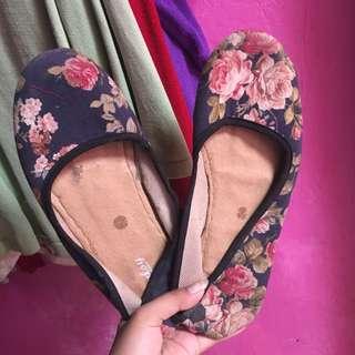 Flower flatshoes