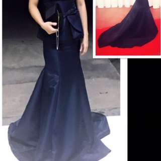 Long Gown With Slit Jobs Carousell Philippines