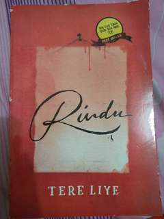 "novel rindu ""Tere Liye"""