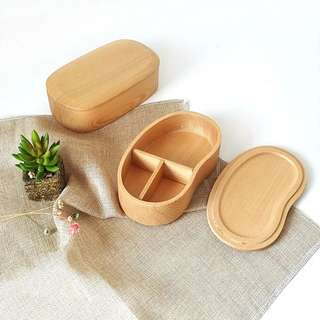 Japanese wooden bento box