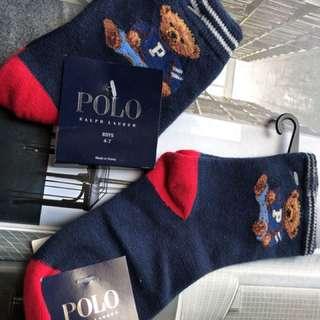 洛杉磯攜回Ralph Lauren Polo小童襪,只有二雙,一雙2~4個月,一雙4~7個月,單雙129