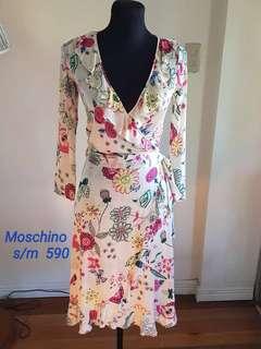 Floral/Sexy V-neck/robe style dress