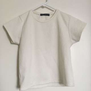 WHITE BRANDY MELVILLE TOP