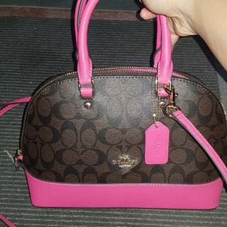 Coach mini Sierra pink authentic quality