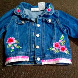24mos denim jacket