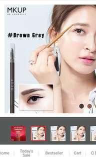 MK UP waterproof Eyebrow pencil