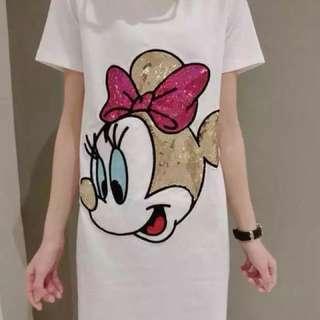 PO-Minnie Mouse long shirt