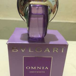 Auth BVLGARI PERFUME not a tester