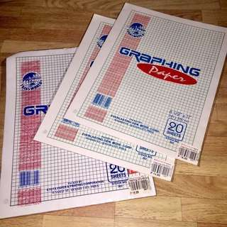Graphing Paper (All for Php10.00)