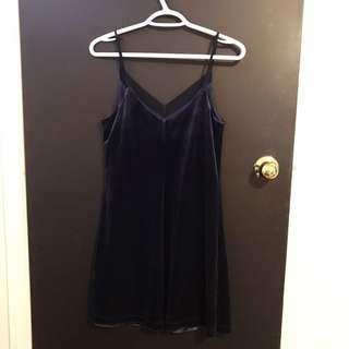 Dynamite Velvet Dress
