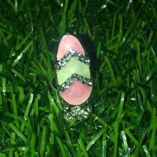 Pink Midi Ring