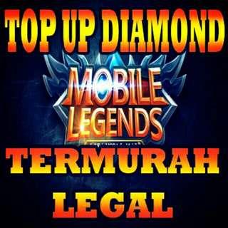 TOP UP DIAMOND MOBILE LEGEND CUSTOM