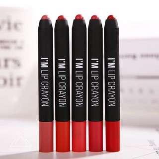 ☘️Memebox I'M Matte Lip Crayon
