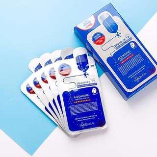 ☘️Mediheal NMF Aquaring Ampoule Mask 10pcs/box