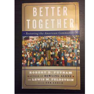 Better Together by Robert Putnam