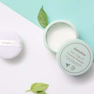 ☘️Innisfree No-Sebum Mineral Powder