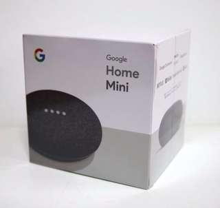 Brand New - Google Home Mini - Charcoal Black