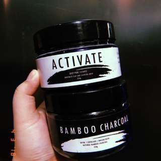 28street Activate Bentonite Clay mask & Bamboo Charcoal Mask
