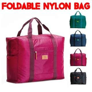 TST008 Foldable Nylon Water-resistant Travel Luggage Bag