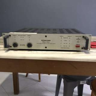 Power amp (made in Germany)