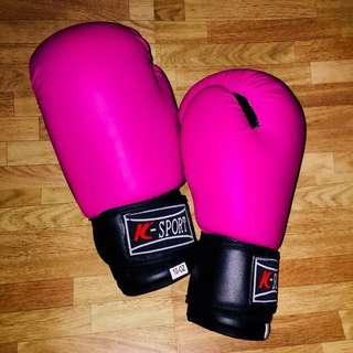 K-Sport Hot Pink Boxing Gloves