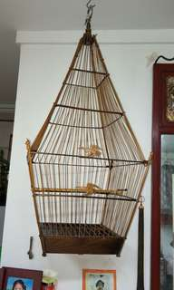 Jambul bird cage 17 sticks