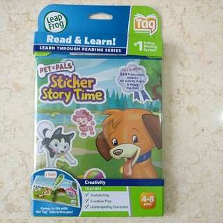 LeapFrog Pet Pals Sticker Story Time (sealed)