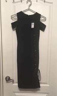 Guess Black Dress BNWT