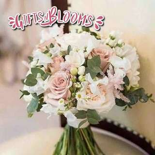 Fresh Flower Bouquet Surprise for Special Anniversary Birthday Gift V44 - QSESQ