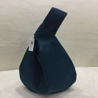The Knot bag- Turquoise Canvas