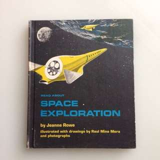 Space Exploration - Vintage Book