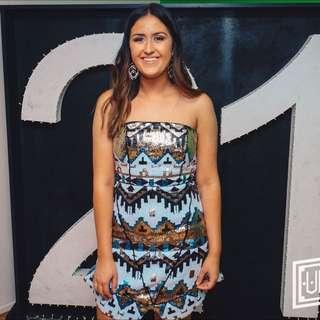Bariano Dress Size Small & Medium