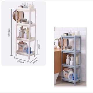4Tier WHITE Storage Rack / Shelf -Good Quality