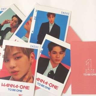 Wanna One Photoset postcard