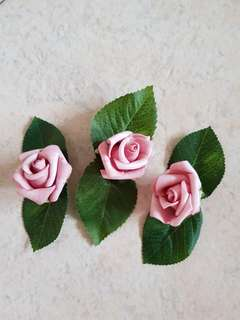 Handmade floral pin for Wedding Groomsmen