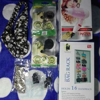 ASSORTED HAIR ACCESORIES