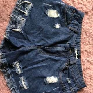 Junk food shorts
