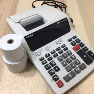⚡️Casio 出紙計數機 Dr-120TM
