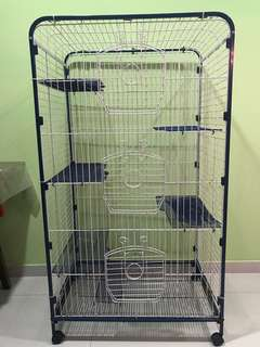 Cage suitable for Chinchillas/Cat/bird