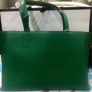 Authentic CK GREEN TOTE