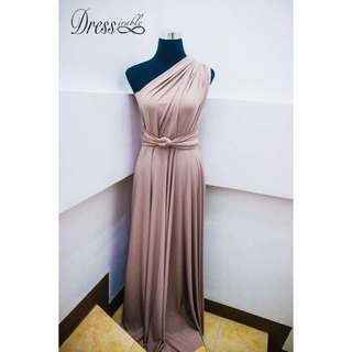 INFINITY GOWN FOR RENT OR SALE