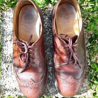 Doc Martens brogue shoes