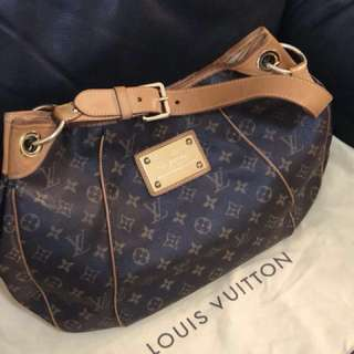 LV Monogram Canvas Galliera bag