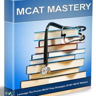 Ebook MCAT Mastery +FREE NOVA MCAT Chemistry Book