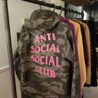 Rain jacket anti social social ASSC MEDIUM SIZE