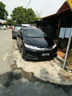 Honda City for rental