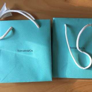 Tiffany紙袋2個