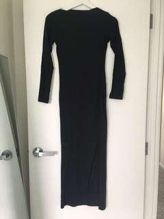 Supre side split dress