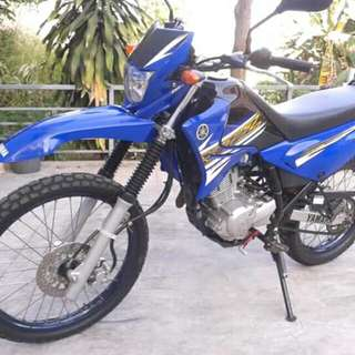 Yamaha XTZ Dirt bike