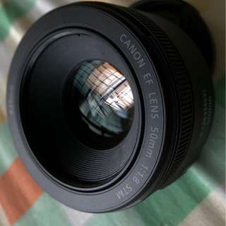 Canon 50 mm 1.8 lens